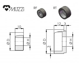 Internal grinding wheels