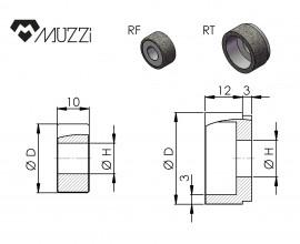 Internal grinding wheels