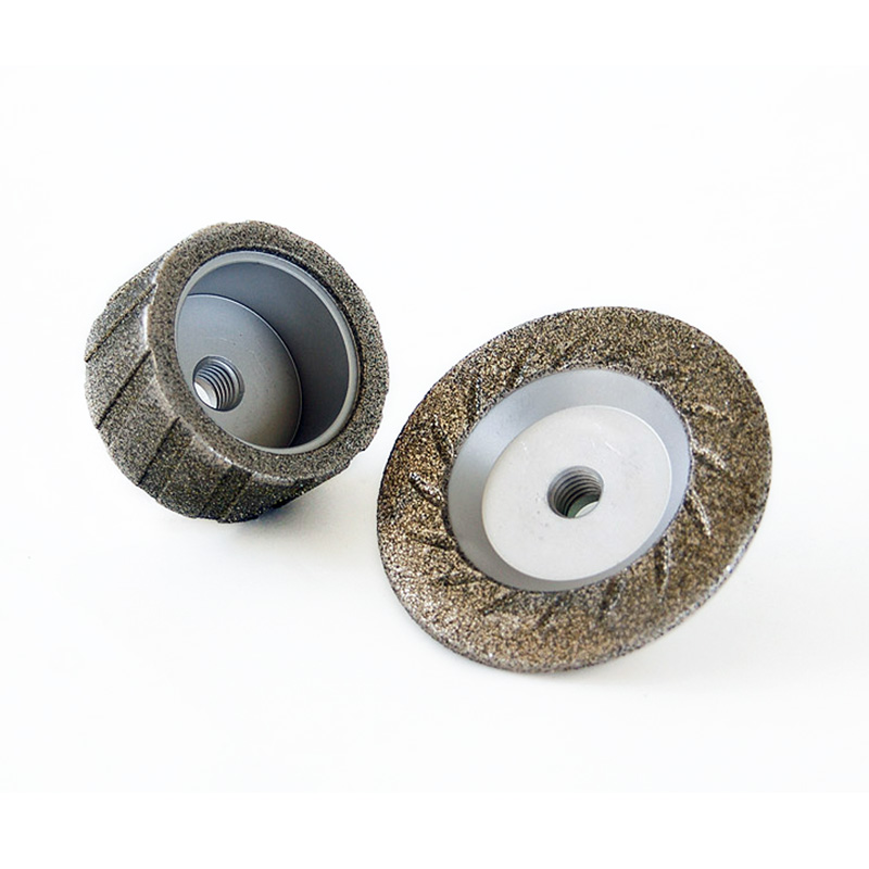 Roughing wheels for hand grinder
