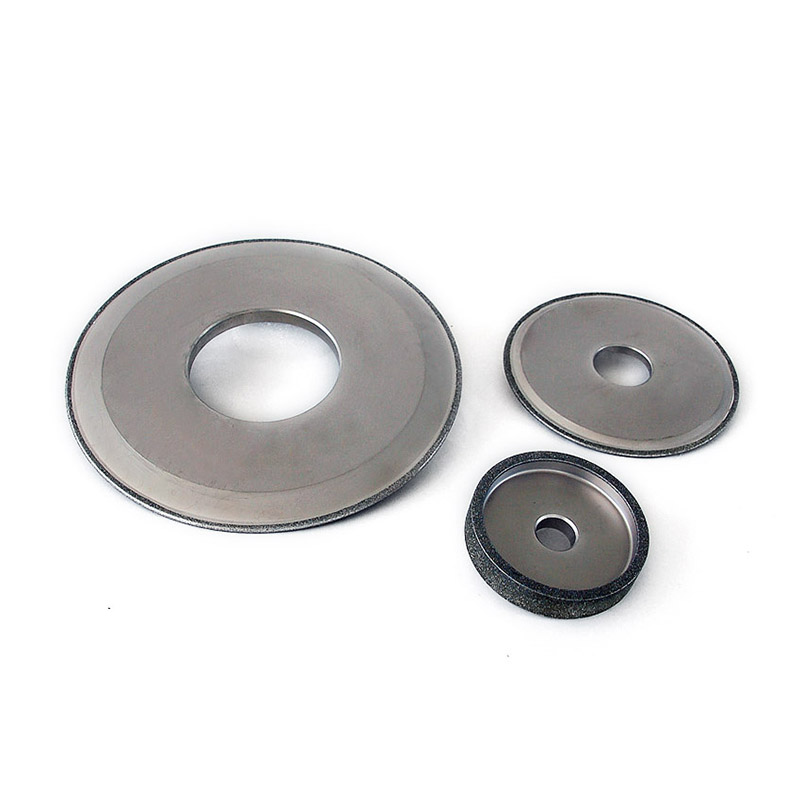 Grinding wheels for carbide rolls