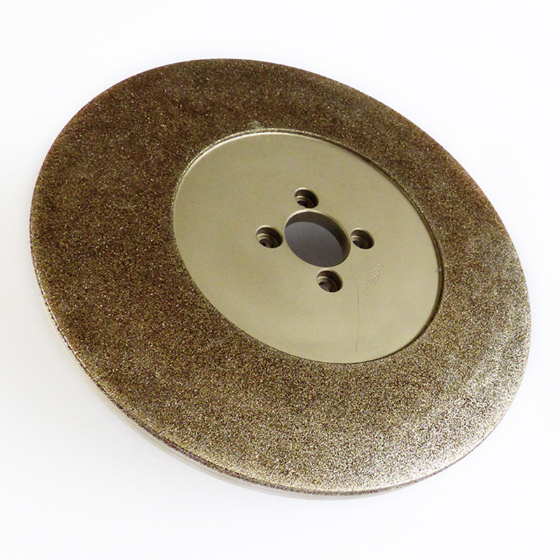 Grinding wheels for compression springs
