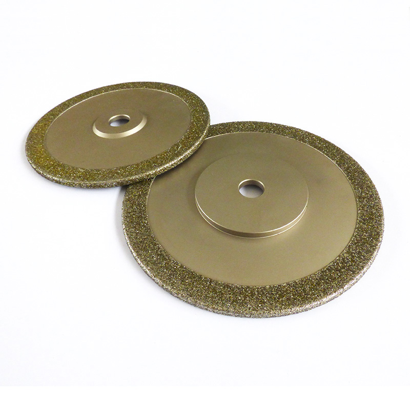 Single hubbed grinding wheels